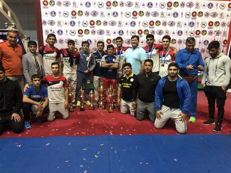 تیم ایران قهرمان کشتی فرنگی بینالمللی جوانان، جام واختانگادزه گرجستان شد
