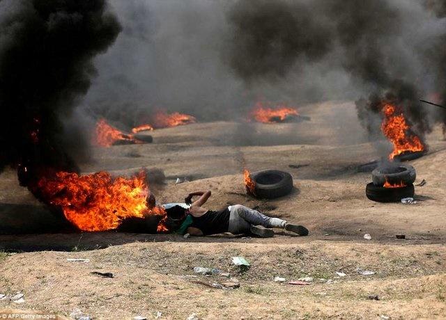 ۴۰ شهید و بیش از ۱۷۰۰ زخمی در مرزهای غزه