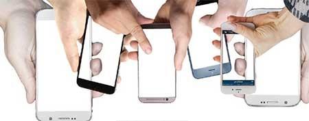 شبکه اجتماعی و تلفن