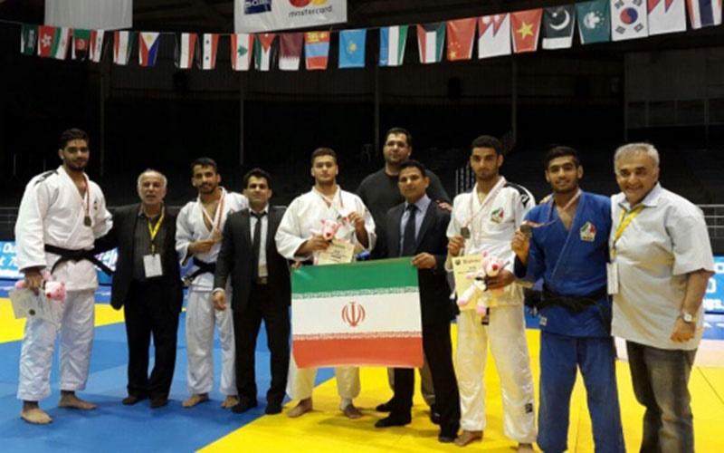 درخشش جوانان جودوی ایران با ۶ مدال در رقابتهای قهرمانی آسیا