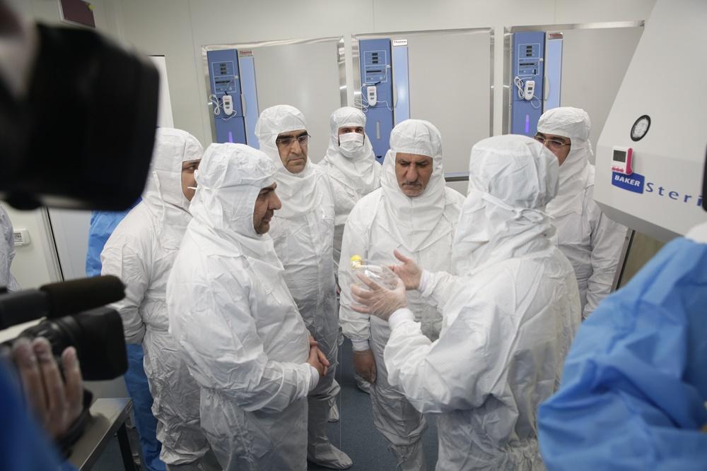 افتتاح کارخانه فراورده های سلولی