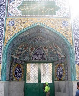 نما و معابر مساجد منطقه ۱۹