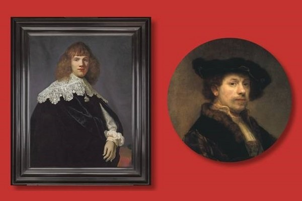 پرتره یک جنتلمن متعلق به رامبراند است |  اثر نقاش در ۲۸ سالگی