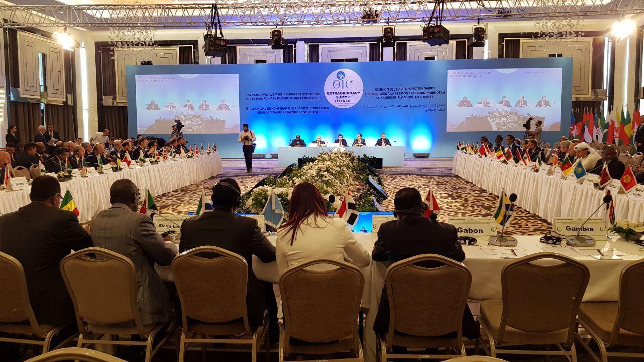 نشست وزرای خارجه سازمان همکاری اسلامی در استانبول آغاز شد