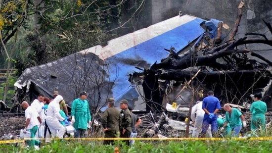 اعلام دو روز عزای عمومی در کوبا در پی سقوط هواپیمای مسافربری