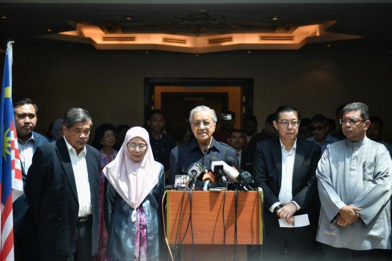 اعضای کابینه دولت جدید مالزی مشخص شد