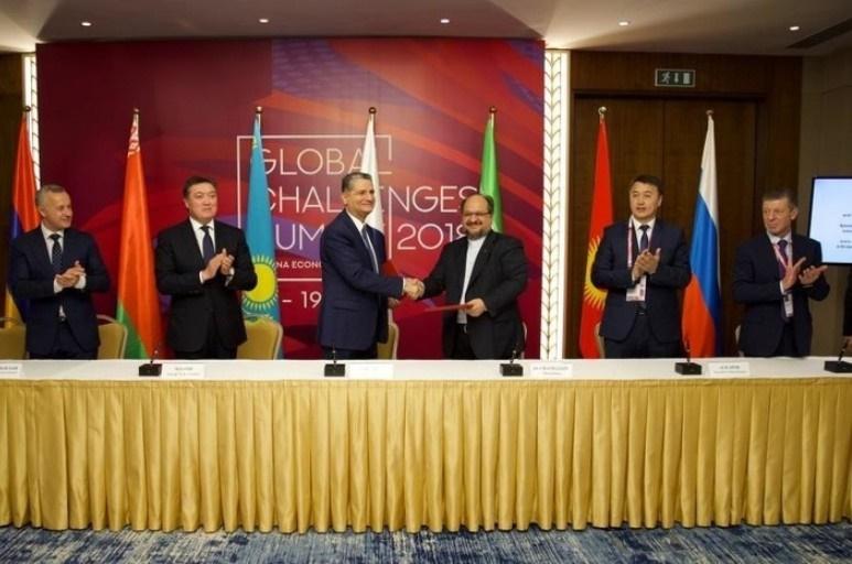 ایران و اوراسیا موافقت نامه تجارت ترجیحی امضا کردند