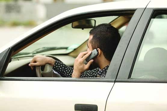 افزایش ۳ برابری ثبت تخلف استفاده از موبایل در رانندگی | جریمه ۱۰۰ هزار تومانی