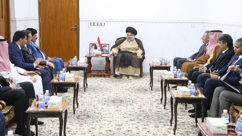 مقتدا صدر، چانه زنی در داخل و رایزنی با خارج برای تشکیل دولت عراق