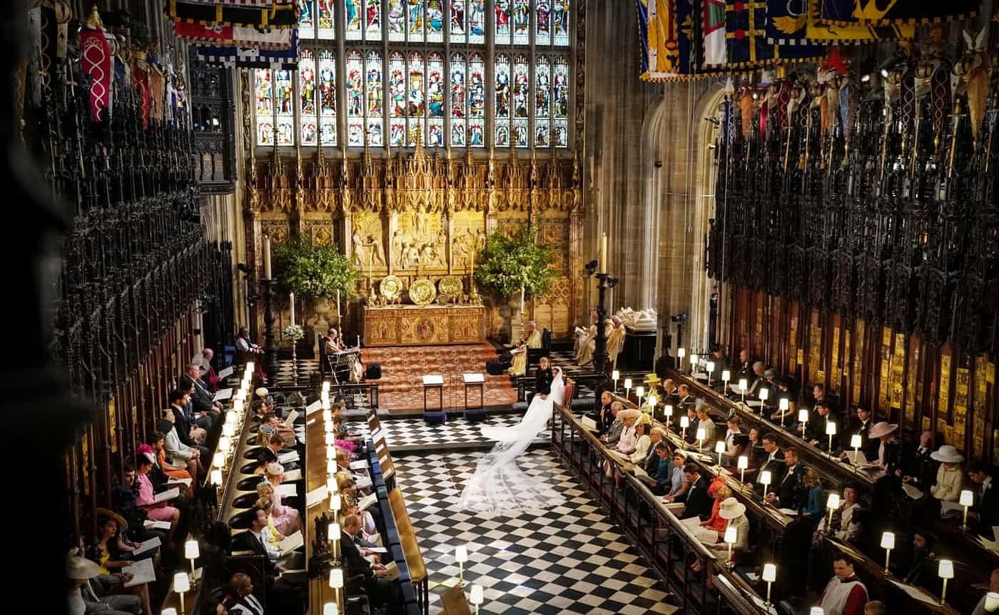 عکس روز: عقد در کلیسا