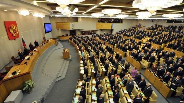 تصویب لایحه تحریم آمریکا در دومای روسیه
