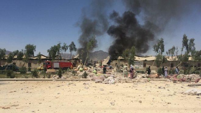 شمار تلفات انفجار قندهار افغانستان به ۱۶ تن رسید