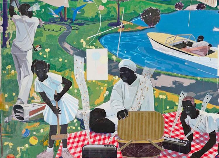 ۲۱ میلیون دلار برای گرانترین نقاش رنگینپوست تاریخ