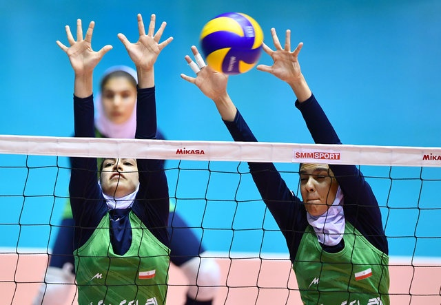 دختران والیبالیست ایران