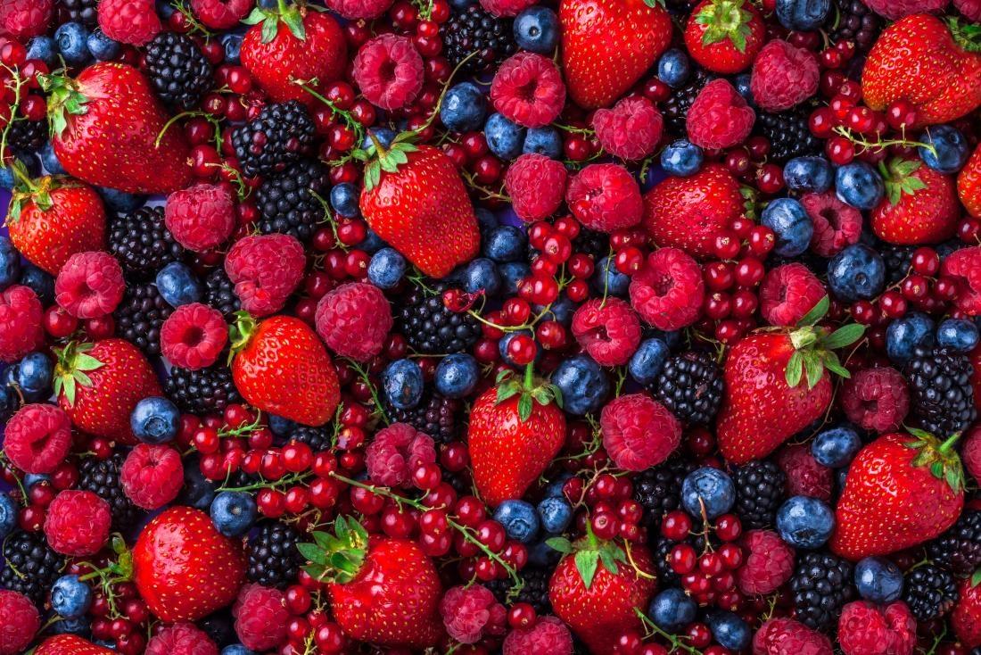 میوههای توتمانند و انگور ممکن است به سلامت ریه کمک کنند