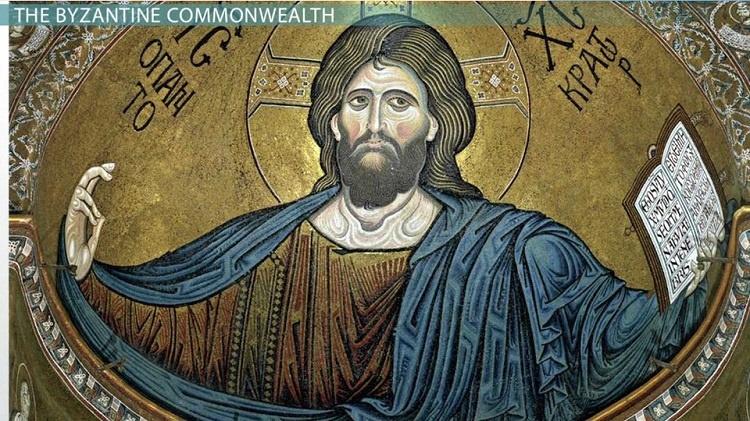 هنر بیزانسی | نقاشی حضرت مسیح