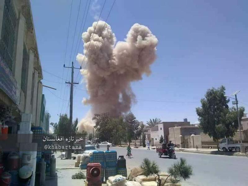 حمله انتحاری در هلمند افغانستان ۲ کشته و ۴ زخمی برجای گذاشت