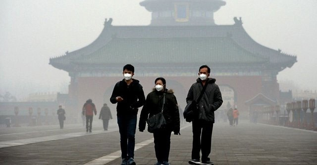 آلودگی هوا در چین