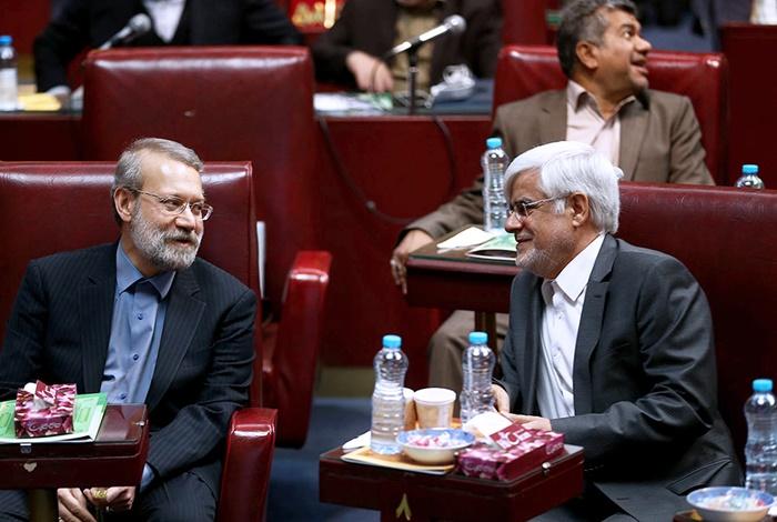 لاریجانی و عارف به دور دوم رقابت ریاست مجلس رفتند | حاجی بابایی انصراف داد