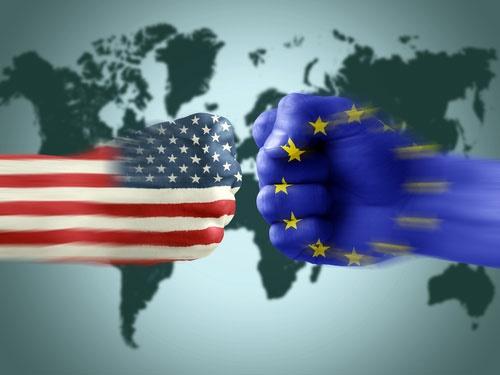 جنگ تجاری اتحادیه اروپا و آمریکا آغاز شد