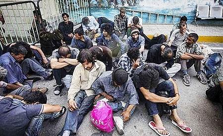 جمعآوری معتادان متجاهر در تهران از ۱۵ اردیبهشت