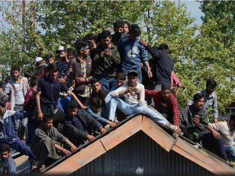ادامه ناآرامی در کشمیر