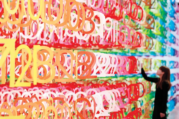 غرقشدن در رنگینکمان اعداد