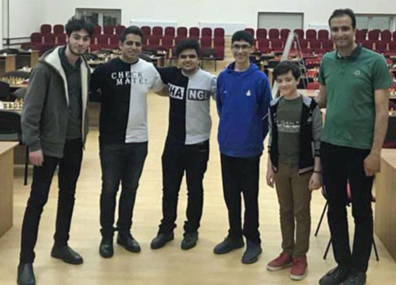احسان قائممقامی قهرمان شطرنج آزاد برقآسای نخجوان شد