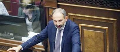 پارلمان ارمنستان به نخست وزیری رهبر معترضان رای داد
