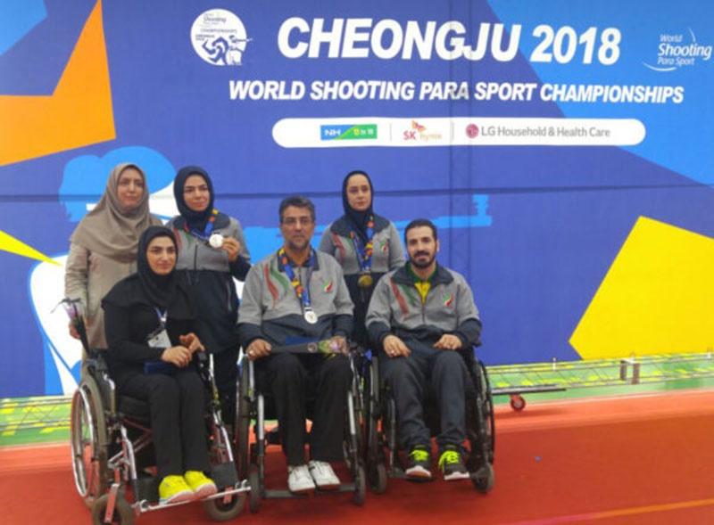 تیراندازی معلولین جهان/ کره جنوبی؛ پایان کار نمایندگان ایران با کسب سه طلا و یک نقره