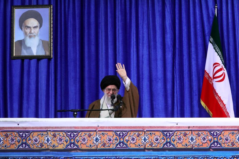 رهبر معظم انقلاب اسلامی در دانشگاه فرهنگیان