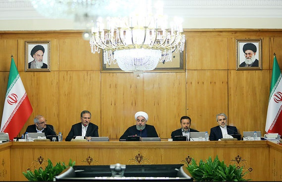 بررسی شرایط کشور پس از خروج آمریکا از برجام در جلسه هیات وزیران