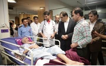 وزیر بهداشت از بیمارستانهای جنوب شهر تهران بازدید کرد