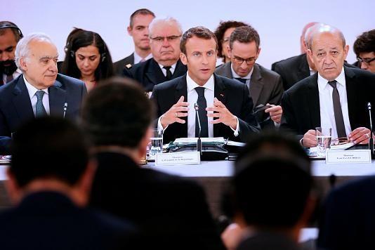 رئیس جمهور فرانسه تصمیم تجاری ترامپ را غیرقانونی خواند