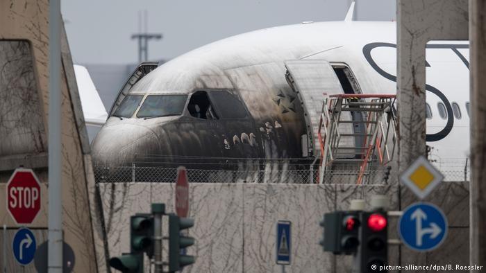 آتشسوزی در فرودگاه فرانکفورت ۱۰ زخمی بر جای گذاشت