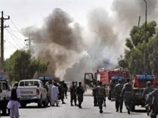 حمله انتحاری در غزنی افغانستان با ۳۱ کشته و زخمی