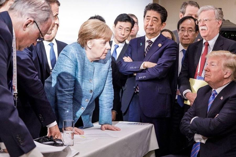 نشست گروه ۷ نقطه عطف فروپاشی دمکراسی در قرن ۲۱
