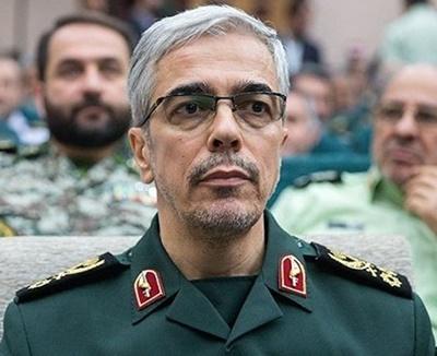 سرلشکر باقری عید فطر را به فرماندهان نظامی کشورهای اسلامی تبریک گفت