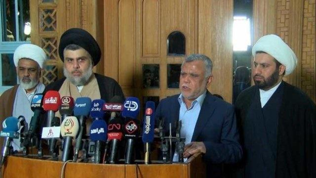 اعلام ائتلاف بین صدر و العامری | تشکیل هسته اولیه فراکسیون اکثریت در پارلمان عراق