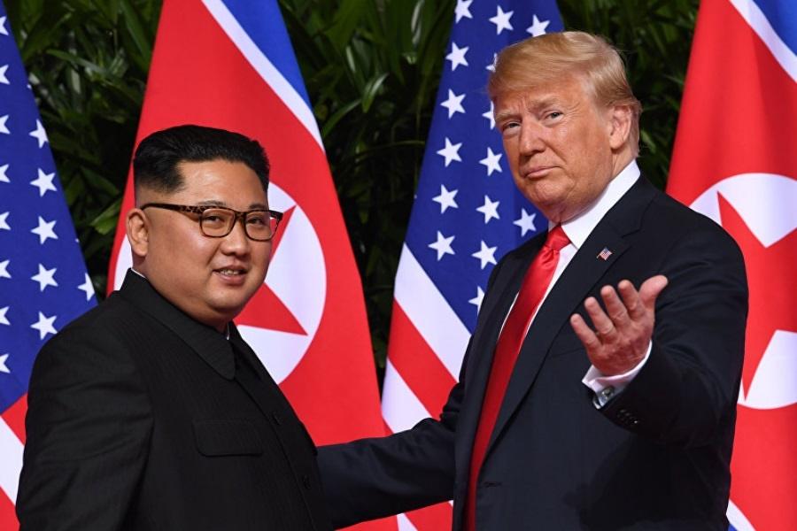 خط تلفنی مستقیم سران آمریکا و کره شمالی برقرار شد
