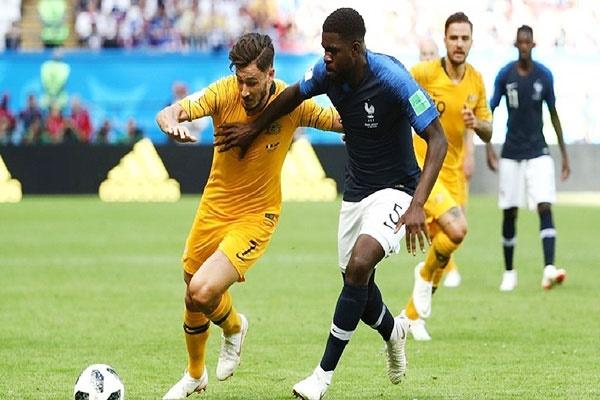 جام جهانی؛ پیروزی فرانسه مقابل استرالیا در یک بازی سخت