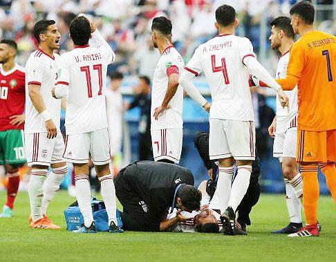 جهانبخش و ابراهیمی به بازی با اسپانیا میرسند