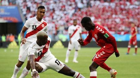 پیروزی دانمارک مقابل پرو