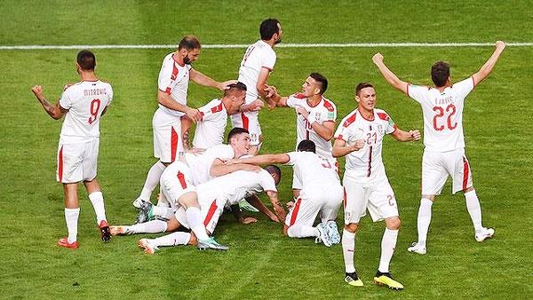 جام جهانی؛ پیروزی صربستان مقابل کاستاریکا