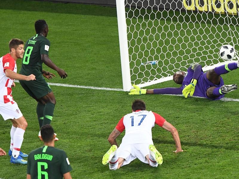 جام جهانی ۲۰۱۸؛ پیروزی دو بر صفر کرواسی مقابل نیجریه