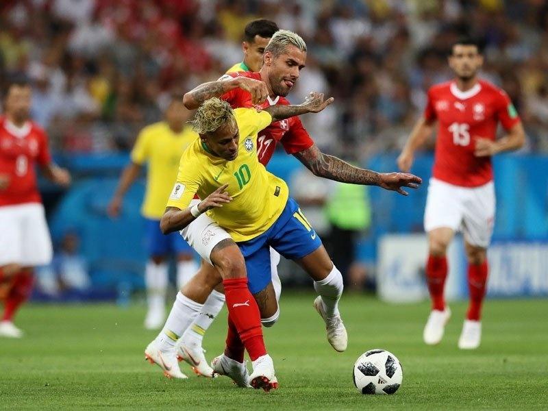 برزیل یک - سوئیس یک | تساوی ارزشمند در برابر برزیل مدعی