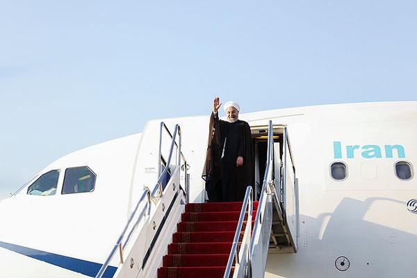 روحانی به سوئیس و اتریش سفر میکند