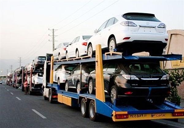 واردات ۳۰۰۰ خودرو طی دو ماه