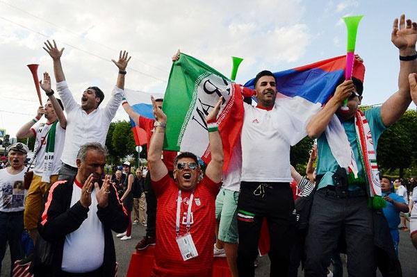 ۱۵ هزار ایرانی در راه کازان برای تشویق تیم ملی
