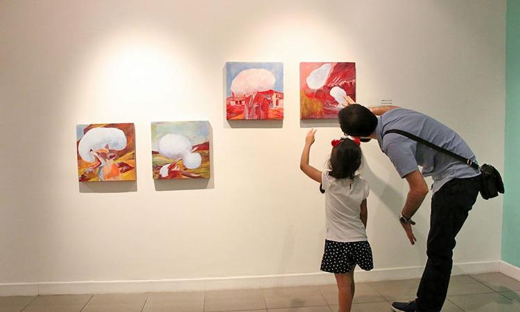 نمایشگاه بوم در ویستا